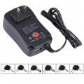 US-Plug-Universal-30W-อะแดปเตอร์ควบคุมแรงดันไฟฟ้า6PCS