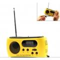 วืทยุพกพา-พลังงานแสงอาทิตย์-มีไฟฉาย-วิทยุ-FM