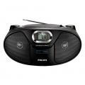 PHILIPS-CD-Portable-Radio-AZ385-12 (Black)