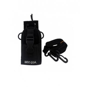 UCALL-กระเป๋าหุ้มวิทยุสื่อสารทุกรุ่น-พร้อมคลิปหนีบเข็มขัด-MSC-20A