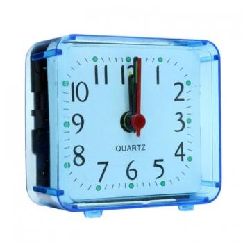 นาฬิกาปลุกสแควร์-เคสใส-ขนาดกะทัดรัด-ดิจิตอล