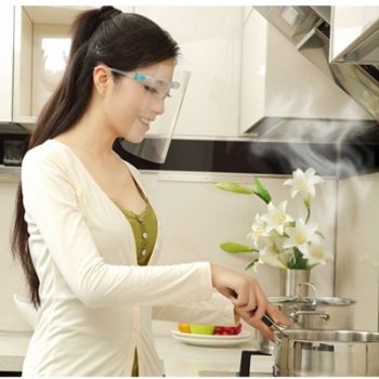 หน้ากากกันน้ำมันร้อน-ของเหลว-สารเคมี-เชื้อโรค