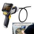 inskam112-กล้องเอนโดสโคปพร้อมไฟ LED-หน้าจอแสดงผล-ดิจิตอล
