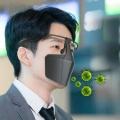 หน้ากากป้องกันเชื้อโควิดแบบใหม่-ไม่อึดอัด-รองรับใบหน้า