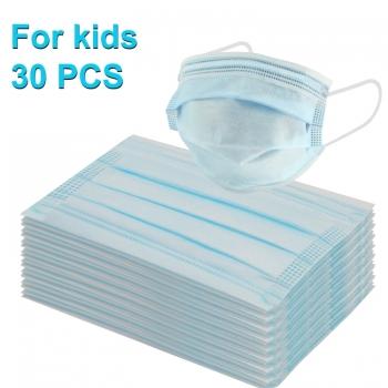 หน้ากากอนามัยสำหรับเด็ก-3-ชั้น-แพ็ค-30-ชิ้น
