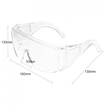 แว่นตานิรภัย-แบบใส-ป้องกันดวงตา