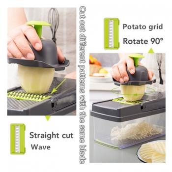 เครื่องตัดผัก-เครื่องตัดผลไม้-เครื่องปอกมันฝรั่ง-แครอท-ขูดชีส