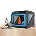 JGAURORA-A7เครื่องพิมพ์3Dที่มีความแม่นยำสูงแผ่นโลหะ+ฉีดสูงกรอบสามมิติทางกายภาพ