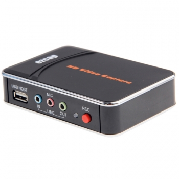 HDMIเครื่องจับภาพ1080จุดบันทึกวิดีโอ HD จับภาพกล่องสำหรับ XBOXหนึ่ง/360/PS3/WII-Uด้วยซอฟต์แวร์แก้ไขมืออาชีพ