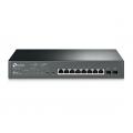 TP-Link-JetStream-8-Port-Gigabit-Smart-PoE+ Switch-with-2-SFP-Slots