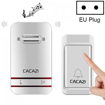 CACAZI-V027G-กริ่งเรียก1ปุ่ม-1ตัวรับสัญญาณ