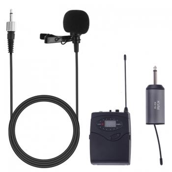 KVM-KV-18-ไมโครโฟนไร้สาย-Lavalier-UHF -พร้อมตัวรับสัญญาณ