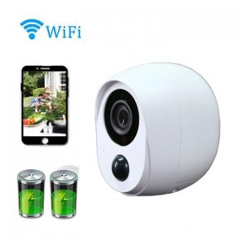 กล้องสมาร์ท-WiFi-กันน้ำ-1080P-พร้อมการ์ดหน่วยความจำ-128GB