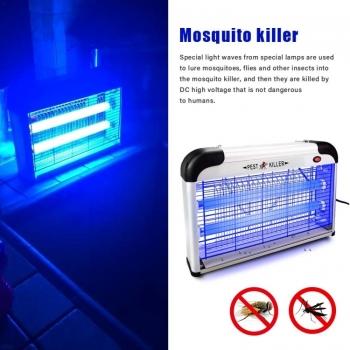 โคมไฟเรืองแสงไฟฟ้า-ในครัวเรือน-ช็อตฆ่ายุง