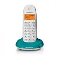 Motorola-Digital-โทรศัพท์บ้านไร้สาย-สำนักงานไร้สาย-สีฟ้า