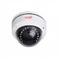 UCall-กล้องวงจรปิด-AHD-CCTV-1-ล้านพิกเซล-ติดเพดาน-ทรงโดมแก้ว-กันน้ำ