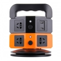Socket-Charger-ปลั๊กไฟ-USB-2ชั้น