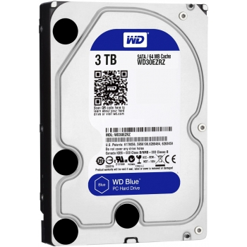 HDD-WD-3TB-BLUE-5400RPM-3.0-TB-HDD-ฮาร์ดดิส-WD-SATA-3-BLUE-WD30EZRZ