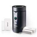 ZMODO-Pivot-กล้อง-WIFI-1080p-หมุน-360-องศาหาคน-ลำโพงบลูทูธ-ความชื้นอุณหภูมิ-พร้อมเซนเซอร์ประตู