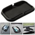 แผ่นซิลิโคนป้องกันการลื่นในรถ-สำหรับ-Iphone-สีดำ