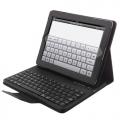 แป้นพิมพ์บูทูธหนังพับป้องกัน-iPad 2-iPad 3