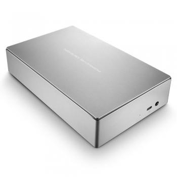 LaCie-Porsche-Design-8TB-Desktop-Drive-รุ่น-STFE8000300-Silver