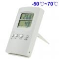 เทอร์โมมิเตอร์ดิจิตอล-แสดงอุณหภูมิและความชื้น