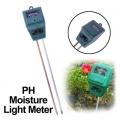 เครื่องวัดดิน ความชื้น PH และแสง