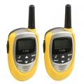 T228-วิทยุสื่อสาร-อย่างง่าย-ขนาดเบากระทัดรัด-สีเหลือง