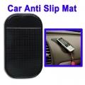 แผ่นรองกันลื่นบนรถสำหรับ Phone / GPS/ MP4/ MP3 (สีดำ)