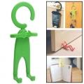 ตะขอแขวนพับรูปคนสำหรับ iphone (สีเขียว)