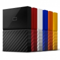 WD-NEW MY PASSPORT VIBRANT 2017 2TB BLACK (7MM) - NEW USB 3