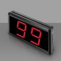 Ucall-จอแสดงหมายเลข-Y-99S-จอเล็กสีดำล้วน
