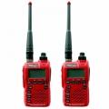 FUJITEL-วิทยุสื่อสาร-0.5W-FB-5H-สีแดง-แพ็คคู่-ถูกกฎหมาย