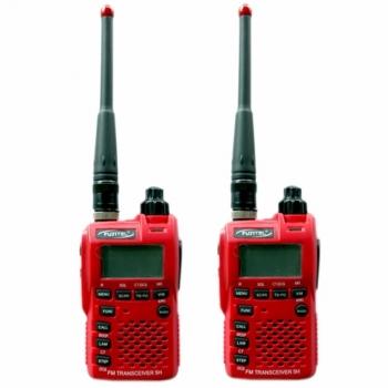FUJITEL-วิทยุสื่อสาร-0.5W-FB-5H-สีแดง-ถูกกฎหมาย